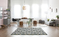 Apartment with dining area Royalty Free Stock Photo