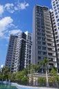 Apartment  in  sun Stock Images