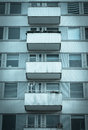 Apartments with balconies Royalty Free Stock Photography