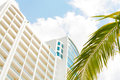 Apartments in beach Playa Bonita Panama Royalty Free Stock Image