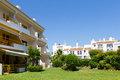 Apartments and villas in algarve portugal Stock Image