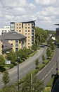 Apartments, Woking, Surrey in England Stock Photography