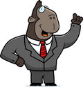 Ape Businessman Stock Photo