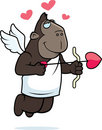 Ape Cupid Stock Photography
