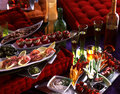 Aperitif atmosphere Stock Images