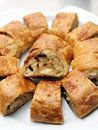 Apfelstrudel, apple strudel Royalty Free Stock Photos
