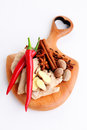 Aphrodisiac all you need to have fun herbs and spices Stock Photography