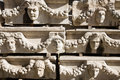 Aphrodisias, Reliefs Royalty Free Stock Photos