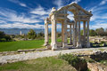 Aphrodisias, Tetrapylon Stock Photography