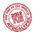 Apocalypse grunge rubber stamp Stock Photography
