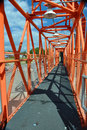 Apollo 11 Walkway (Gantry) Royalty Free Stock Images