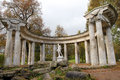 The Apollo Colonnade in Pavlovsk Park Russia Royalty Free Stock Photo