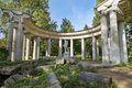 Apollo Colonnade in Pavlovsk Park, Saint Petersburg, Russia Royalty Free Stock Photo
