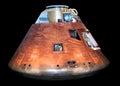 Apollo rocket module display Royalty Free Stock Photo
