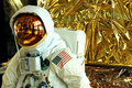 Apollo 11 space suit closeup Royalty Free Stock Photo