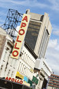 Apollo Theater - 125th Street, Harlem Royalty Free Stock Image