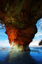 Apostle Islands Ice Caves Wisconsin Royalty Free Stock Photo