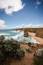 Apostles the at great ocean road australia Royalty Free Stock Photography