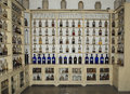 Apothecary cabinet an old and genuine from th century Stock Images