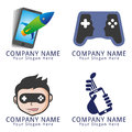 App and gaming logo concept for your business eps ready Royalty Free Stock Image