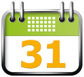 App icon calendar vector for web applications all layers well organised and easy to edit Royalty Free Stock Image