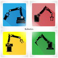 App Icon Robotics Vector Illus...
