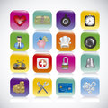 App icons illustration of of applications vector illustration Stock Images