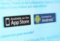 App Markets Royalty Free Stock Photo
