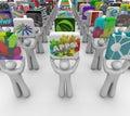 App Opslag van de Software van de Verkoop Apps van Ontwikkelaars de Huidige Royalty-vrije Stock Foto