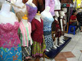 Apparel a variety of sold in a shopping center in the city of solo central java indonesia Royalty Free Stock Image