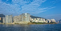 Appartments in aberdeen hong kong build in fen shui style highrise residential apartments building china Stock Photos