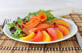 Appetizer with salmon Royalty Free Stock Photos