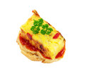Appetizer of spanish omelet Stock Photo