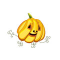 The appetizing beautiful pumpkin for Halloween
