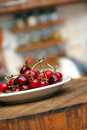 Appetizing fresh cherries Stock Photography