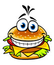 Appetizing hamburger Royalty Free Stock Photos