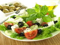 Appetizing salad for vegetarians Royalty Free Stock Photos