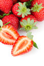 Appetizing strawberries Royalty Free Stock Photo