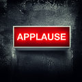 Applause Stock Photography