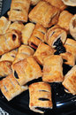 Apple and berry turnovers Royalty Free Stock Photography