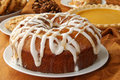 Apple bundt cake Royalty Free Stock Photo