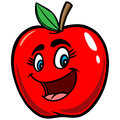 Apple Cartoon Royalty Free Stock Photo