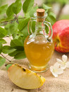 Apple cider vinegar Stock Images