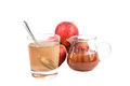 Apple cider vinegar a home remedy for gout inflammation Stock Image