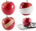 An apple a day... Royalty Free Stock Images