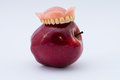 Apple and dental prosthesis