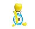 Apple diet Royalty Free Stock Photo