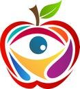 Apple With Eye