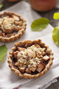 Apple and grape tart Stock Images