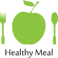 Apple Healthy Meal Stock Images
